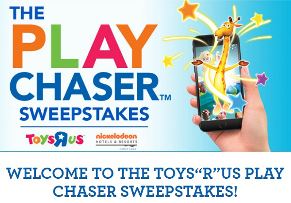 "Toys ""R"" Us Play Chaser Sweepstakes"