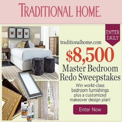 Traditional Home: Master Bedroom Sweepstakes