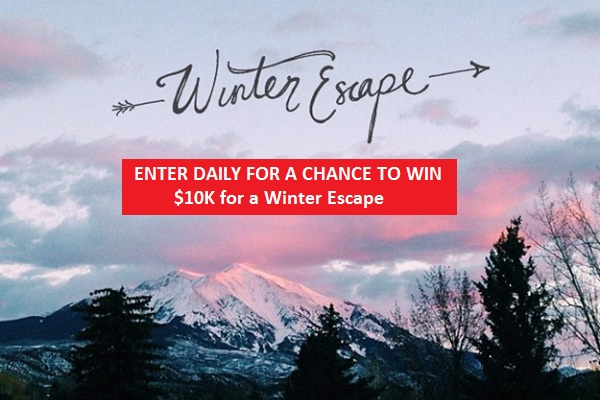 Win $10k for Winter Escape from Travel Channel
