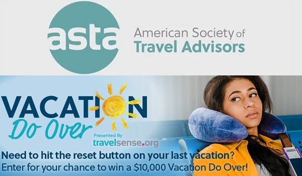 ASTA Vacation Do Over Contest: Win Trip