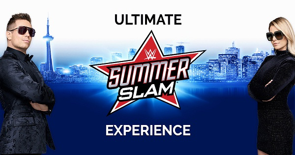 Miz and Mrs Ultimate Summerslam Experience Sweepstakes