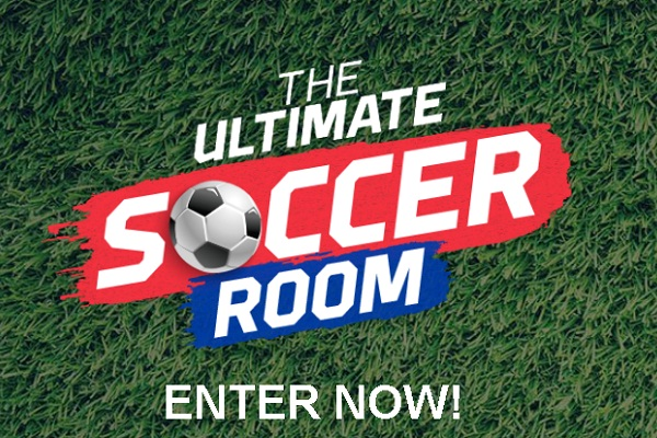 The Ultimate Soccer Room Sweepstakes: Win $15k Room Makeover