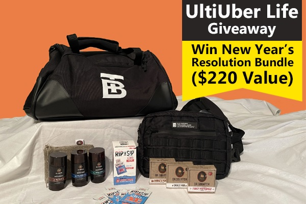 UltiUber Life New Year's Resolution Giveaway