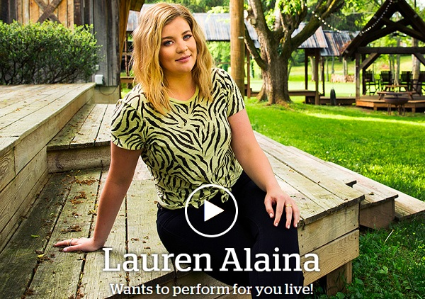Lauren Alaina Sweepstakes