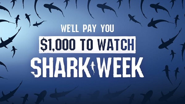 Shark Week Cash Sweepstakes 2020