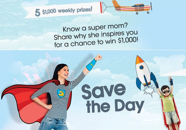 Save-the-day sweepstakes
