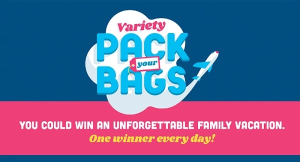 Frito-Lay Sweepstakes 2020 on VarietyPackYourBags.com