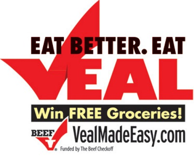 Veal Made Easy Sweepstakes: Win $1000 worth Grocery