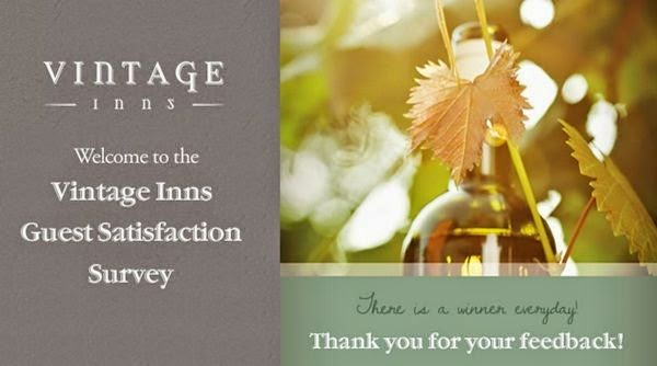 Vintage Inns Survey Sweepstakes: Win Free Voucher