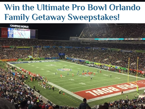 VisitOrlando.com Pro Bowl Family Getaway Sweepstakes