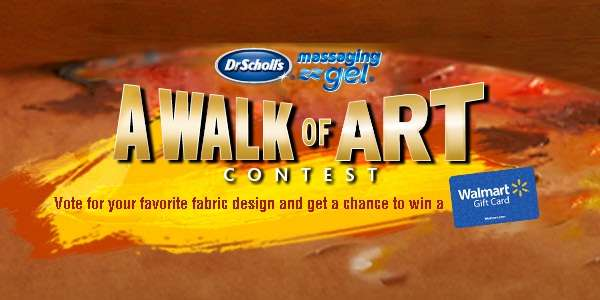 Dr. Scholl's Massaging Gel A Walk of Art Sweepstakes