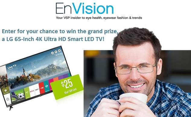 VSP EnVision Sweepstakes: Win Smart LED TV | SweepstakesBible