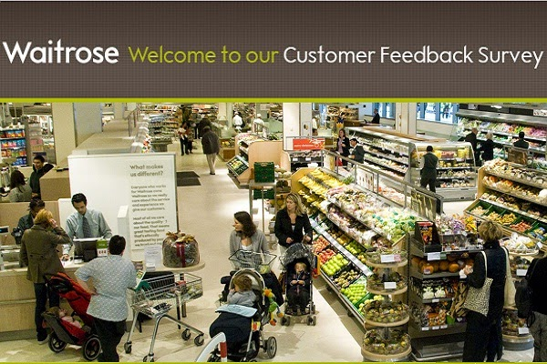 Win £500 voucher in Waitrose experience Feedback Survey Montlhy