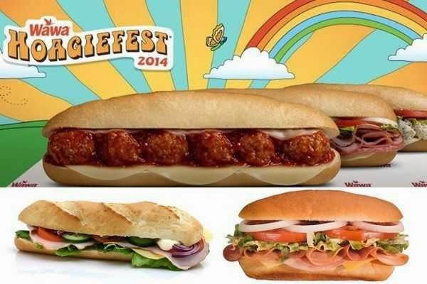 Win Free Hoagies for Life on Hoagiefest.com