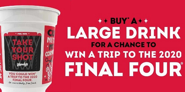 Wendy's Take Your Shot Instant Win Game: Win Trip