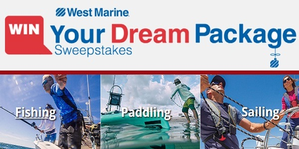 Westmarine.com Win Your Dream Package Sweepstakes