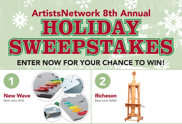 Artists Network Holiday Sweepstakes