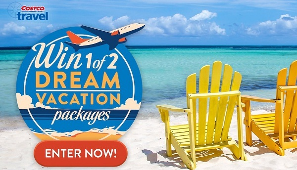 Costco ca Dream Vacation Package Contest   SweepstakesBible