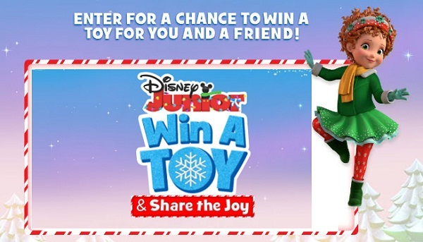 Disney Channel Win A Toy Share The Joy Sweepstakes