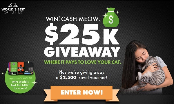 Win Cash Meow $25K Giveaway