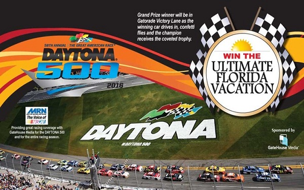 Win a VIP Trip to Daytona 500 at Windaytona.com
