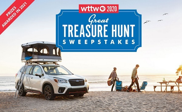 WTTW Great Treasure Hunt Sweepstakes 2020