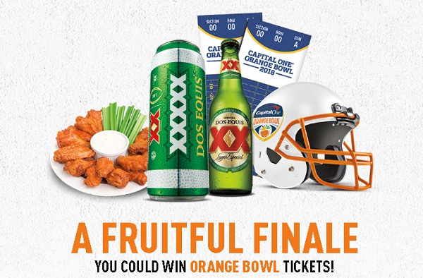 Dos Equis Orange Bowl Tixx Sweepstakes on xxorangebowl.com