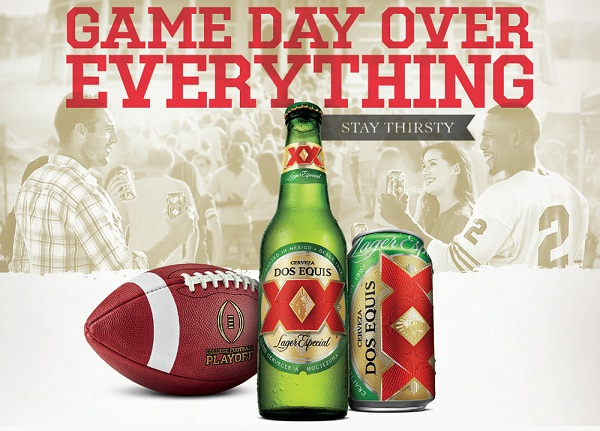 Dos Equis Game Day over Everything Sweepstakes