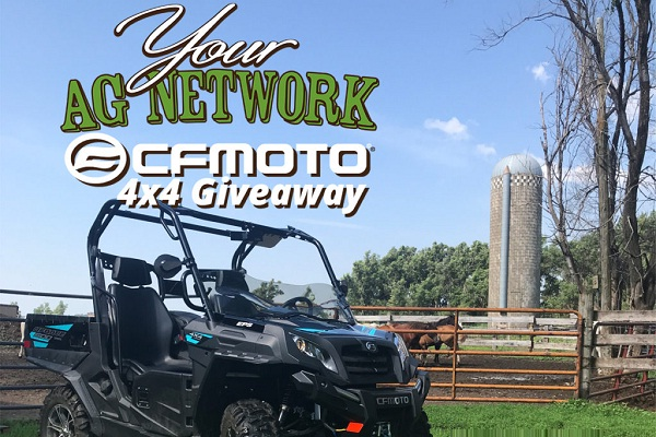 Your Ag Network UTV Giveaway 2019