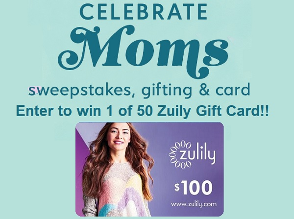 Zulily Celebrate Moms Sweepstakes